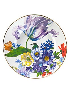 MacKenzie-Childs - Flower Market Dinner Plate
