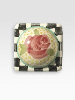 MacKenzie-Childs - Petit Four Square Knob