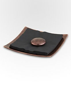 Nambe - Heritage Pebble Napkin Holder