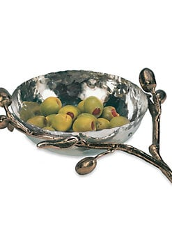 Michael Aram - Olive Branch Nut Dish