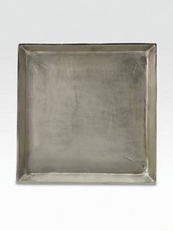 Donna Karan - Burnished Metal Server/Square