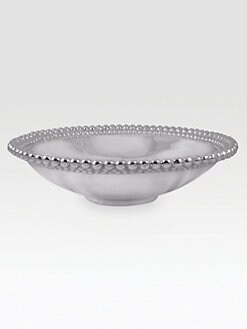 Mariposa - Pearl-Edged Serving Bowl