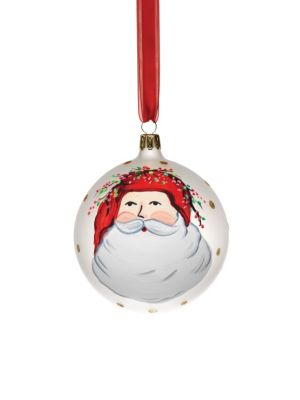 Old St. Nick Assorted Ornaments 4-Piece Set