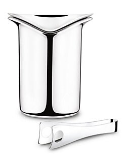 Georg Jensen - Wine Ice Bucket & Tongs