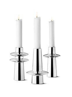 Georg Jensen - Ellipse Candleholders, Set of 3