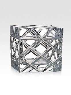 Rogaska - Crisscross Crystal Box