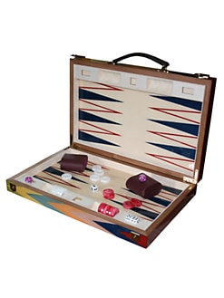 Ercolano - Zag Handmade Wooden Backgammon Set