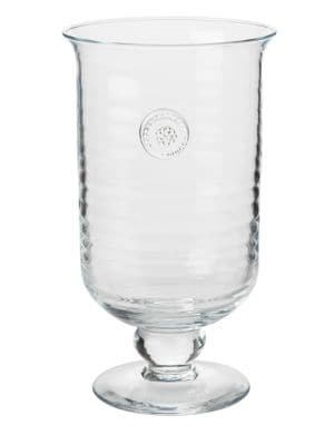 Berry & Thread Glass Hurricane