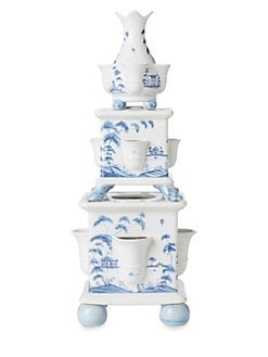 Juliska - Country Estate Stoneware Tulipiere Tower, Set of 3