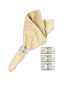 Juliska - Berry & Thread Napkin Rings, Set of 4