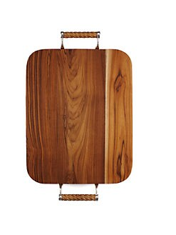 Oscar de la Renta - Teak Wood Cheese Board