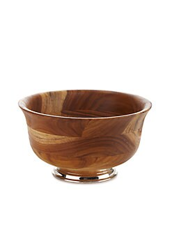 Oscar de la Renta - Teak Wood Serving Bowl