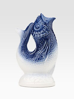 Oscar de la Renta - Fish Earthenware Jug