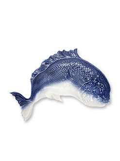 Oscar de la Renta - Fish Earthenware Serving Platter