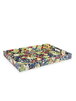 Oscar de la Renta - Floral-Print Tray