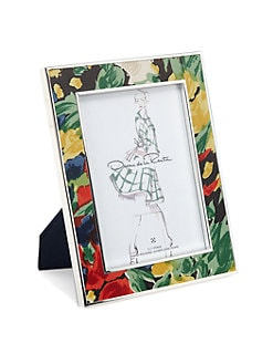Oscar de la Renta - Floral Enameled Frame