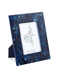 Oscar de la Renta - Marbleized Resin Frame