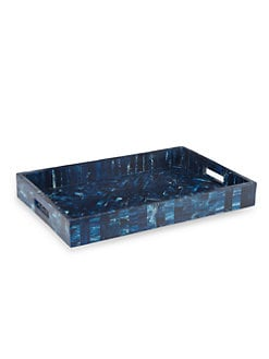 Oscar de la Renta - Marbleized Resin Tray