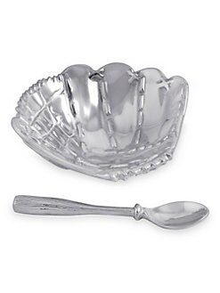 Mariposa - Baseball Porringer & Spoon Set
