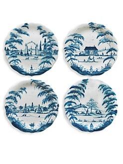 Juliska - Country Estate Party Plates/Set of 4
