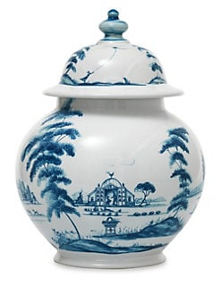 Juliska - Country Estate Lidded Ginger Jar Garden Follies