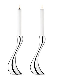 Georg Jensen - Cobra Candle Holders, Set of 2