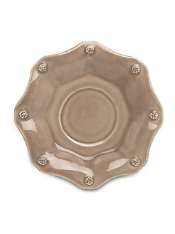 Juliska - Berry & Thread Stoneware Saucer/Brown