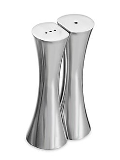 Nambe - Kissing Salt & Pepper Shakers