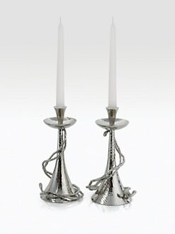 Michael Aram - Wisteria Candleholders/Set of 2