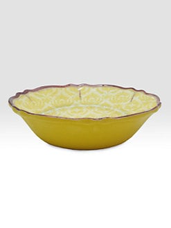Le Cadeaux - Louis Yellow Cereal Bowls, Set Of 4