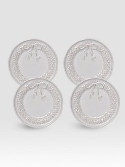 Juliska - Holiday Cocktail Ceramic Plates, Set of 4