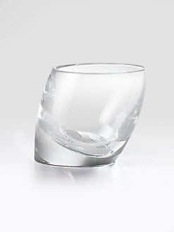 Nambe - Tilt Double Old Fashioned Glass, Set Of 2