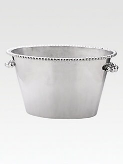 Mariposa - Recycled Pearled Double Ice Bucket