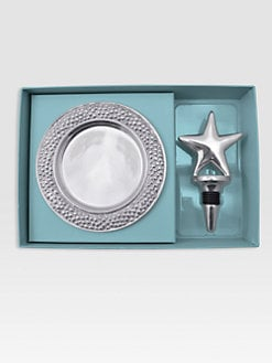 Mariposa - Star Bottle Stopper & Wine Plate