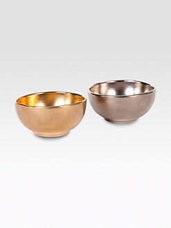 Michael Wainwright - 24k Gold & Platinum Petit Bowls, Set of 2