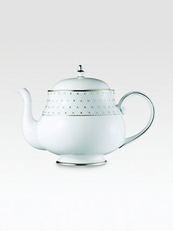 Prouna - Crystal-Embellished Bone China Teapot