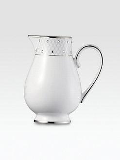 Prouna - Crystal-Embellished Bone China Creamer
