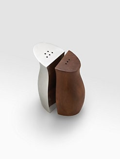 Nambe - Cradle Salt & Pepper Shakers