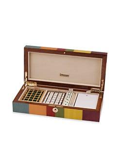 Ercolano - Lucilla Wooden Card Game Box