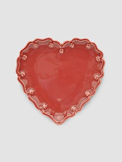 Juliska - Heart Cocktail Plates, Set of 4