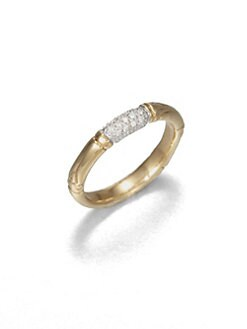 John Hardy - Pavé Diamond Ring