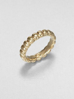 John Hardy - Ribbed Ring