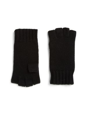 COLLECTION Fingerless Cashmere Gloves