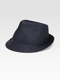 Saks Fifth Avenue Men's Collection - Washed Linen Fedora