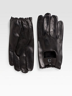 Saks Fifth Avenue Men's Collection - Nappa Leather Driving Gloves