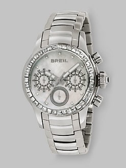 Breil - Logo Stainless Steel Chronograph Watch