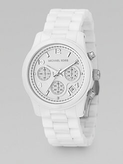 Michael Kors - Ceramic Chronograph Watch