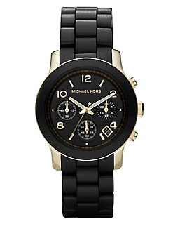 Michael Kors - Wrapped Gold IP Stainless Steel Bracelet Watch