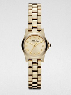 Marc by Marc Jacobs - Henry Dinky Goldtone Stainless Steel Bracelet Watch