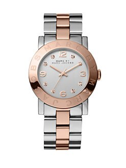 Marc by Marc Jacobs - Two-Tone Stainless Steel Watch/Rose Goldtone